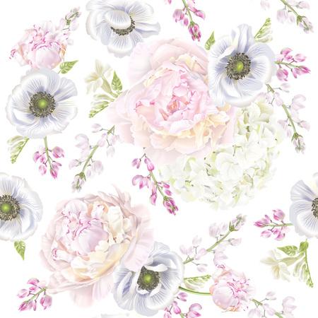 Peont anemone pattern