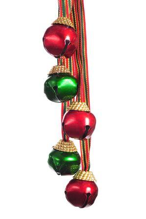 ribetes: Jingle Bell Foto de archivo