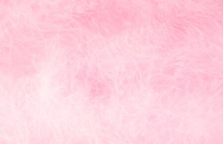 fluffy pink abstract