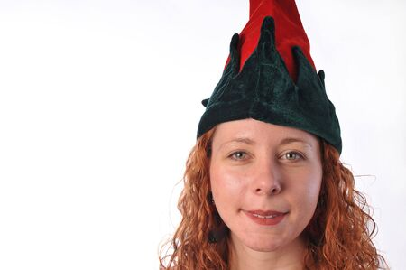 xmas elf photo