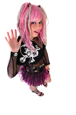 punk girl style Stock Photo - 4168591