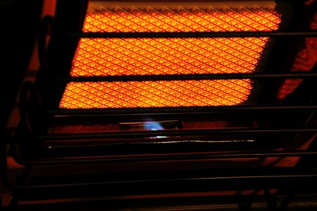 propane heater abstract Zdjęcie Seryjne