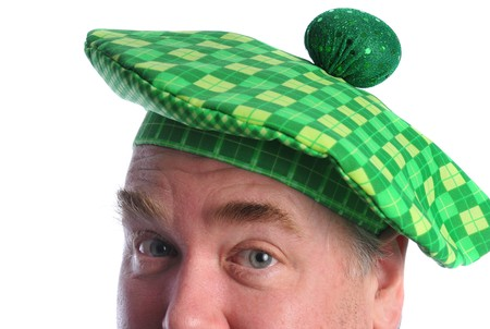 man in a st patrick day hat Stock Photo - 4295520