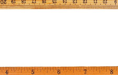 ruler frame or a border also used for copy space
