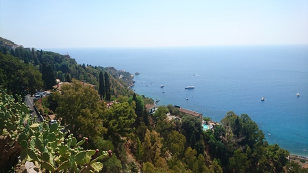 Oceanview near Taormina