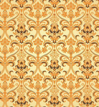 Seamless wallpaper pattern Reklamní fotografie - 14088236