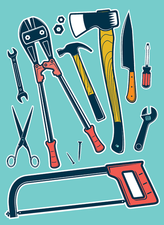 Vector tool set for workshop and craft