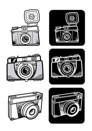 style  photo camera set