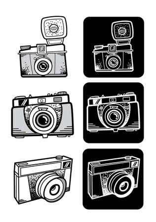 style  photo camera set