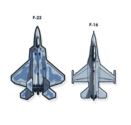 fighter jets. Air force