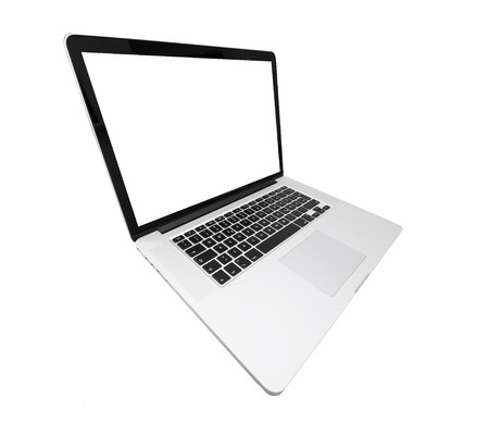 exempted: laptop with white screen from the side, exempted