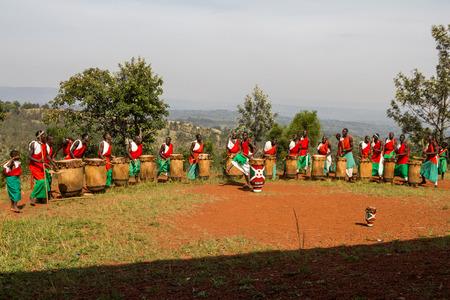 burundi: gishora drummer in Burundi