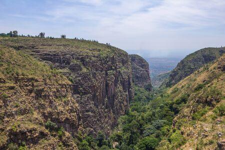 burundi: canyon in Burundi Africa