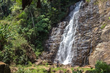 burundi: Karera waterfalls in Burundi Stock Photo