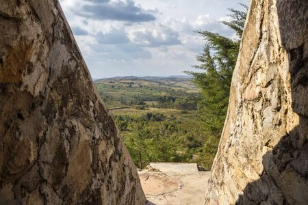 burundi: landscape Burundi nil spring Stock Photo