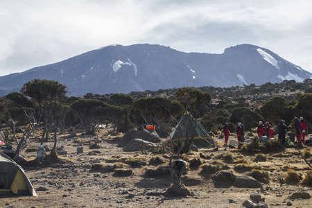 kilimanjaro: Kilimanjaro Shira camp