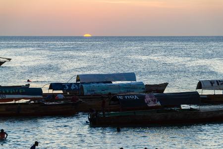 zanzibar: Sunset Stone Town Zanzibar