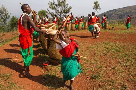 burundi: Gishora drummer in Burundi Editorial