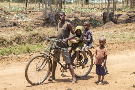 Burundi Afrikanische Kinder Editorial