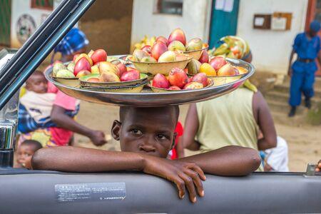 burundi: Burundi African Boy Street sellers Editorial