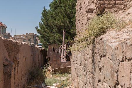 bribe: Soviet military scrap Afghanistan Herat city