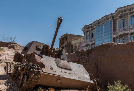 ferraille: Sovi�tique ferraille militaire Afghanistan Herat �ditoriale