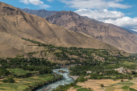 A View of Afghanistans Panjshir valley