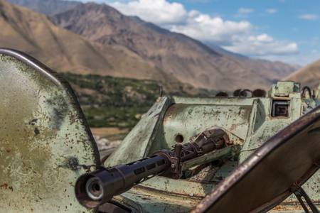 soviet: Military scrap soviet war - Afghanistan Panjshir Valley