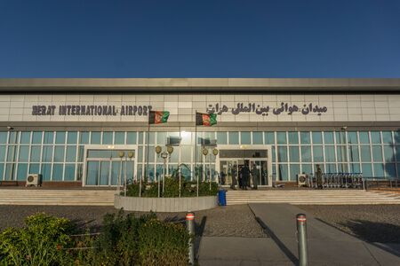 afghanistan: herat afghanistan airport Stock Photo