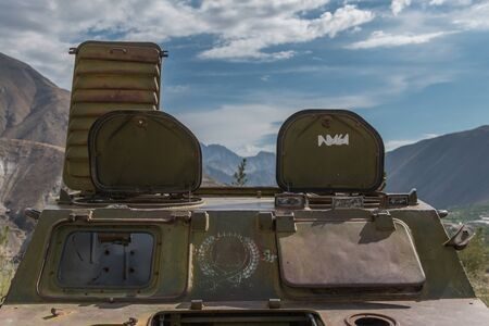 ferraille: ferraille militaire - Vall�e du Panshir afghanistan