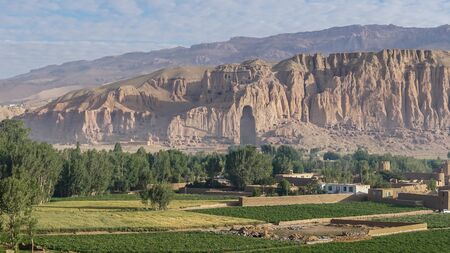 taliban: the monumental Buddha statues of Bamyan