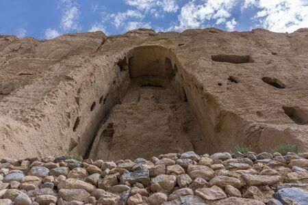 taliban: buddhas of bamiyan - afghanistan