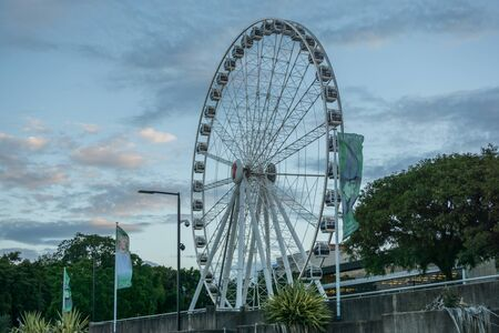 The Wheel of Brisbane Queensland Australia Standard-Bild