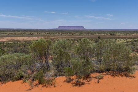 Outback landscape, East Macdonnell Ranges, Northern Territory, Australia