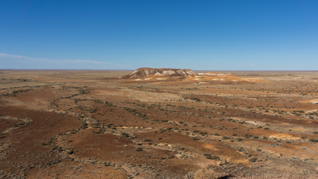 The Breakaways, Coober Pedy, Australia Standard-Bild