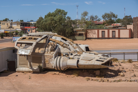 Spaceship in the desert, Coober Pedy, Australia
