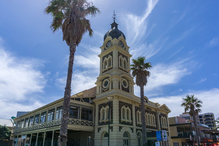 Glenelg City, South Australia Editorial