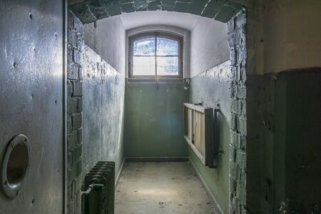 Ancient Prison Cells in at Old Jail.