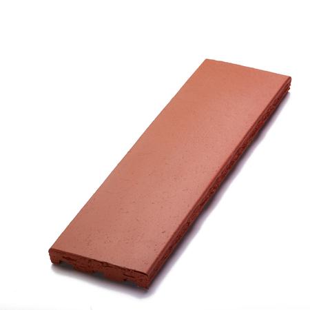 Klinkerplatten die Fassaden der Gebäude zu verzieren Standard-Bild