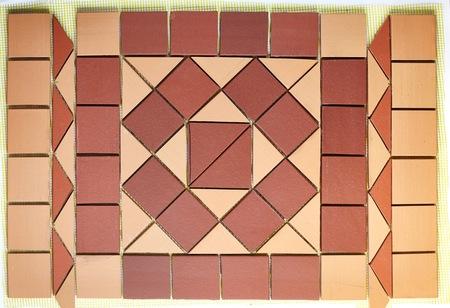 Klinkerplatten die Fassaden der Gebäude zu verzieren