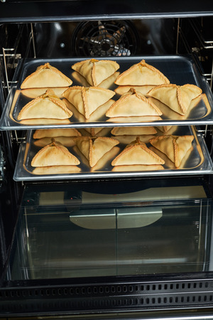 Industrial convection oven for catering. Professional kitchen equipment Imagens