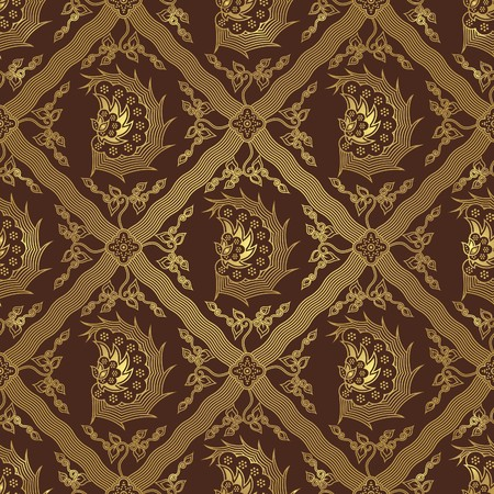 Seamless Wing Batik Pattern Vector