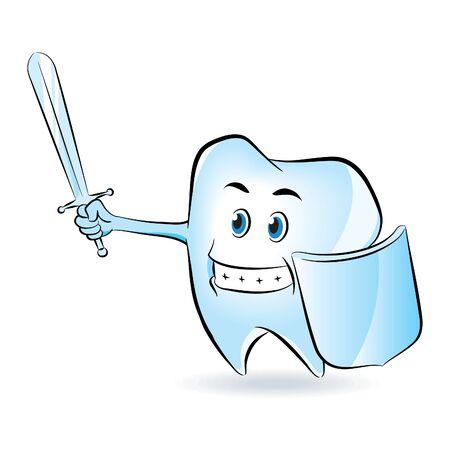Tooth Defense Vector