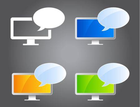 Webinar Icons Vector