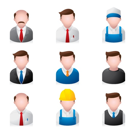 People Icons - Office Stock Vector - 10414682