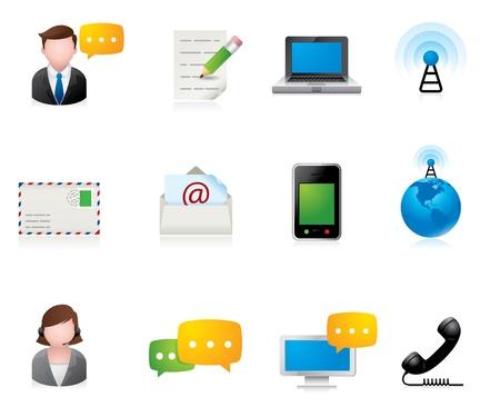 Web Icons - Communication Stock Vector - 10414771