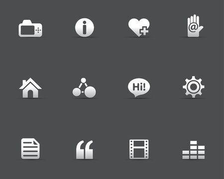 inexpensive: Web Icons - Personal Portfolio