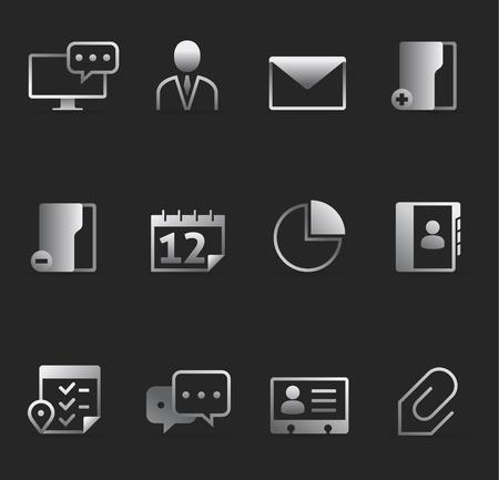 contact icon: Dark Pictogrammen - Groep samenwerking