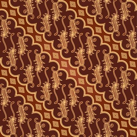 Seamless Batik Parang Barong Pattern Vector