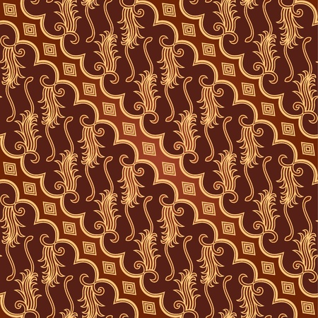 batik: Seamless Batik Parang Barong Pattern